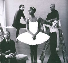 "Dance Theatre of Harlem Company in  FLATTmag (Issue #5)  ""A Determined Grace"" by Phil Chan. Photo: Christina Lessa"