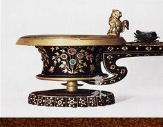 日本東大寺正倉院寶物-紫檀長柄香爐