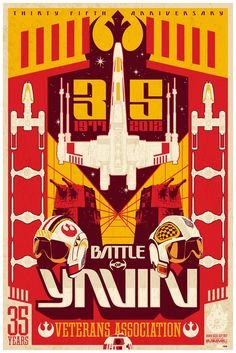 Battle of Yavin 35th Anniversary Poster