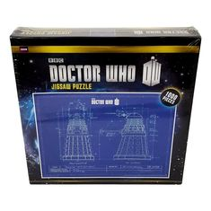 Doctor Who BBC Dalek Blueprint Jig Saw Puzzle 1000 pieces Sealed #BBC Bbc Doctor Who, Puzzle 1000, Dalek, Puzzle Pieces, Jigsaw Puzzles, Seal, Sewing Patterns, Playing Cards, Board