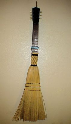 Guitar Broom - WANT! #brooms