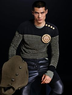 Following the reveal of the Balmain for H&M advertising campaign, we get another glimpse at the collection. Ahead of its November 5, 2015 release, choice pieces from the anticipated designer collaboration are modeled by Dudley O'Shaughnessy and Hao Yun Xiang. Offering a precise sampling of the Balmain aesthetic, creative director Olivier Rousteing delivers a military-themed …