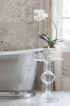 Rinfret, Ltd. Fair Oaks, Neoclassical, Decor Interior Design, Interior Ideas, Glass Vase, Photo And Video, Bathrooms, Instagram, Home Decor