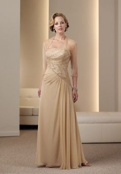 Gold Mother Of The Bride Dresses Ideas