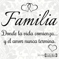 y el amor nunca termina. Motivational Phrases, Inspirational Quotes, Familia Quotes, Love In Spanish, Spanish House, Spanish Style, Cute Captions, Happy Sunday Quotes, Christian Memes