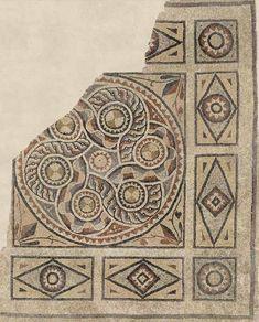 Mosaicos de Zeugma (Foto: Zeugma Archaeology Project/Divulgação)