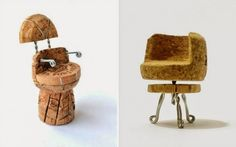 Your place to buy and sell all things handmade Single Champagne Cork Miniature Chairs Dwr ContestChampagne cork miniature chairItems similar to Wine Cork Garland, 3 Yards on EtsyWine Cork Yards by SweetSophieMaes on EtsyBrown Wine Cork Trivet, Wine Cork Art, Wine Cork Crafts, Wine Corks, Wine Cork Projects, Small Wood Projects, Plastic Bottle Tops, Recycle Plastic Bottles, Cork Garland