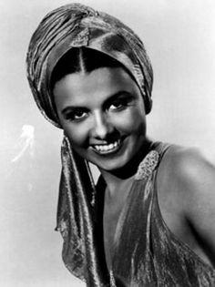 Lena Horne #turban