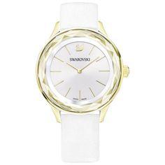 Swarovski 5295337 Octea Nova Ladies Watch, White, As Shown Smartwatch, Bracelet Cuir, Bracelet Watch, Swarovski Watches, Nova, Online Watch Store, Watch Sale, Replica Handbags, Stainless Steel Case