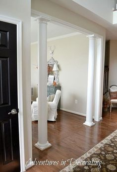 living room ideas chic decor makeover, home decor, home improvement, living room ideas