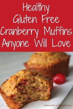 Healthy Gluten Free Cranberry Muffins Anyone Will Love | Divine Health