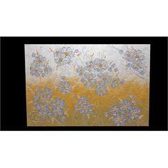 'Composizione moderna di fiori argento' G.ARTE.M ORIGINAL   100% IRRIPETIBILE 100% INIMITABILE 100% …ORIGINALE!!!