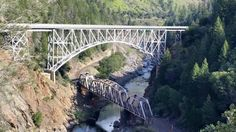 Feather River Canyon in Northern California
