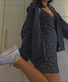 Indie Outfits, Teen Fashion Outfits, Retro Outfits, Cute Casual Outfits, Look Fashion, Summer Outfits, School Outfits Teens, Casual Dresses For Teens, Lazy Outfits
