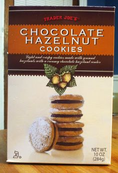 What's Good at Trader Joe's?: Trader Joe's Chocolate Hazelnut Cookies