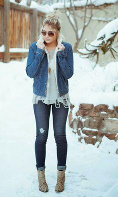 #veste #moumoute #jeans #denim www.unclejeans.com