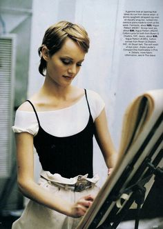 ☆ Amber Valletta | Photography by Dewey Nicks | For Vogue Magazine US | April 1993 ☆