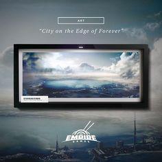 "Print ""City on the Edge of Forever"" - #digitalart #digitalartist #artprint #artprints #picoftheday #art #digitalpainting #instaart #conceptart #fantasy #digital #designsheriff #graphicdesign #thedesigntip #simplycooldesign #wacom #wacomtablet #photobash"