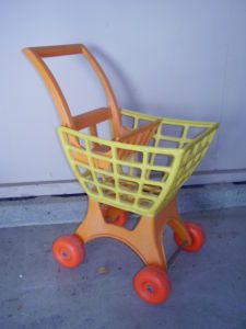 shopping cart I had in the 70's