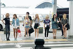 150725 SNSD @ Incheon Airport By Soshi-Addict (Jibbazee) - Minus