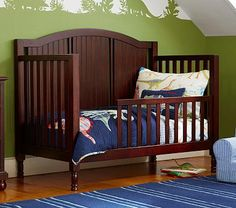 Catalina Crib Guardrail Conversion Kit #PotteryBarnKids