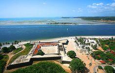 Forte Orange, Ilha de Itamaracá, Pernambuco,  Brasil