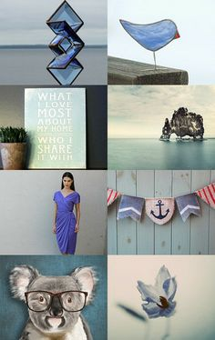 Blue sea by maya ben cohen on Etsy--Pinned with TreasuryPin.com