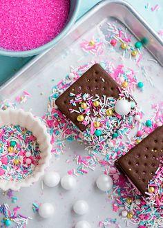 Marshmallow Sprinkle Sandwiches by Sweetapolita