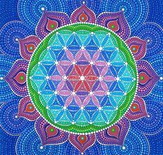 «Lotus Flower of Life» de Elspeth McLean