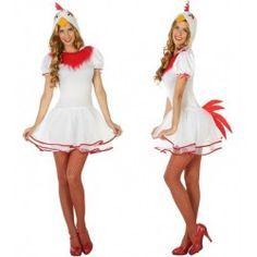 #Disfraz de #Gallina para mujer #mercadisfraces #tienda de #disfraces #online disponemos de disfraces #originales perfectos para #carnaval.