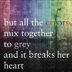 DMB....these lyrics got me through a tough time in my life.