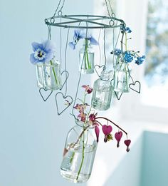 Such a cute handmade chandelier