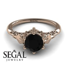 White Gold Engagement Ring by Segal Jewelry White Gold Engagement Ring by Segal. Weißgold-V. Elegant Engagement Rings, Round Diamond Engagement Rings, Three Stone Engagement Rings, Antique Engagement Rings, Black Rings, White Gold Rings, Unique Diamond Rings, Ring Verlobung, Black Diamond