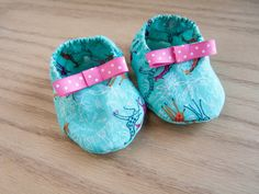 baby soft sole shoes baby girl booties baby by LittleMommaBoutique, $12.50