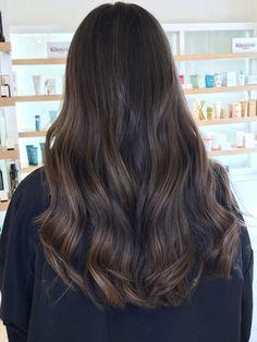 Brown Hair Balayage, Brown Blonde Hair, Dark Hair, Long Brunette Hair, Pretty Hair Color, Hair Color For Black Hair, Brown Hair Colors, Hair Shades, Auburn Hair