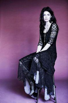 Beautiful black lace dress <3