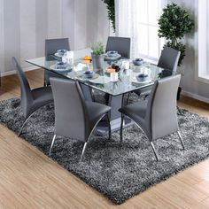 3 Essential Considerations When Choosing Glass Dining Room Table glass dining room table furniture of america ziana contemporary rectangular tempered glass dining table NGPTYPM Furniture, Glass Dining Table, Dining Table Setting, Glass Dining Room Table, Dining Table, Table, Dining Room Decor, Furniture Of America, Metal Dining Table