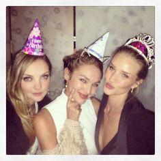heather candice rosie Party Time! Rosie Huntington Whiteley Celebrates Birthday with Candice Swanepeol & Heather Marks