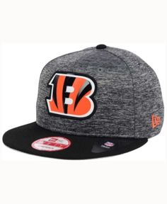 e352ad2f27b New Era Cincinnati Bengals Shadow Bevel 9FIFTY Snapback Cap   Reviews -  Sports Fan Shop By Lids - Men - Macy s