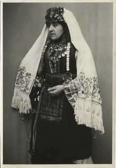 Serbian costume from Herzegovina , © The Historical Archive of Sarajevo