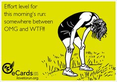 Exactly how I felt the first time I ran at 5am in Kuwait when it was an arid 90.