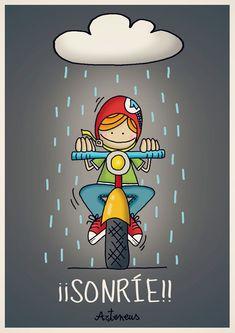 Una sonrisa para el mal tiempo!!! (versión chico...jaja)