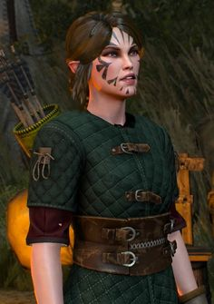 Scoia'tael the witcher 3 Elf Characters, Fantasy Characters, Scoia Tael, Character Inspiration, Character Art, Renaissance Festival Costumes, Dungeons And Dragons Art, The Witcher Books, Witcher Art