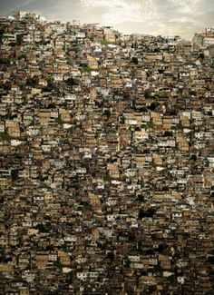 Favelas (slums) in Brazil. I want to make a difference in the slums. Favelas Brazil, Rio De Janerio, Slums, Urban Landscape, Wonders Of The World, The Good Place, City Photo, Beautiful Places, Scenery