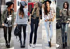 moda hipster mulher