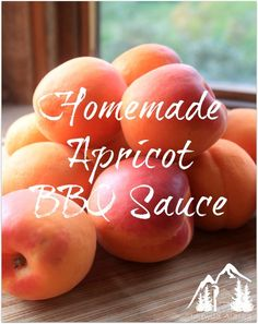 Looking for the perfect summery BBQ sauce? Check out this amazing homemade apricot BBQ sauce. Easy, sweet, and full of that summery taste!