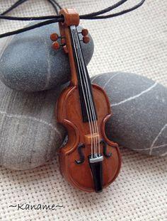 Изделия - кулоны филигранью и скрипка