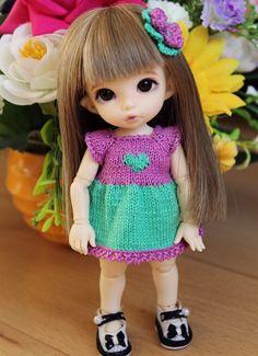 Обновки маленькой Ди / BJD - шарнирные куклы БЖД / Бэйбики. Куклы фото. Одежда для кукол