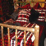 Lodge Theme Bedroom
