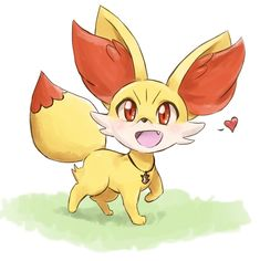 Fennekin love that pokemon my favourite Pokemon Gif, Kalos Pokemon, Fire Pokemon, Pokemon Eeveelutions, Pokemon Party, New Pokemon, Pokemon Stuff, Cute Pokemon Pictures, Cute Pictures